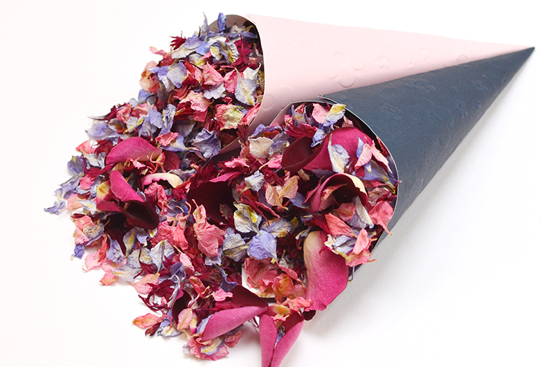 September_mix_pink_and_navy_confetti_cones