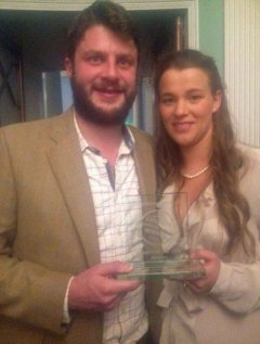 Jim_and_Jess_with_the_good_web_guide_award