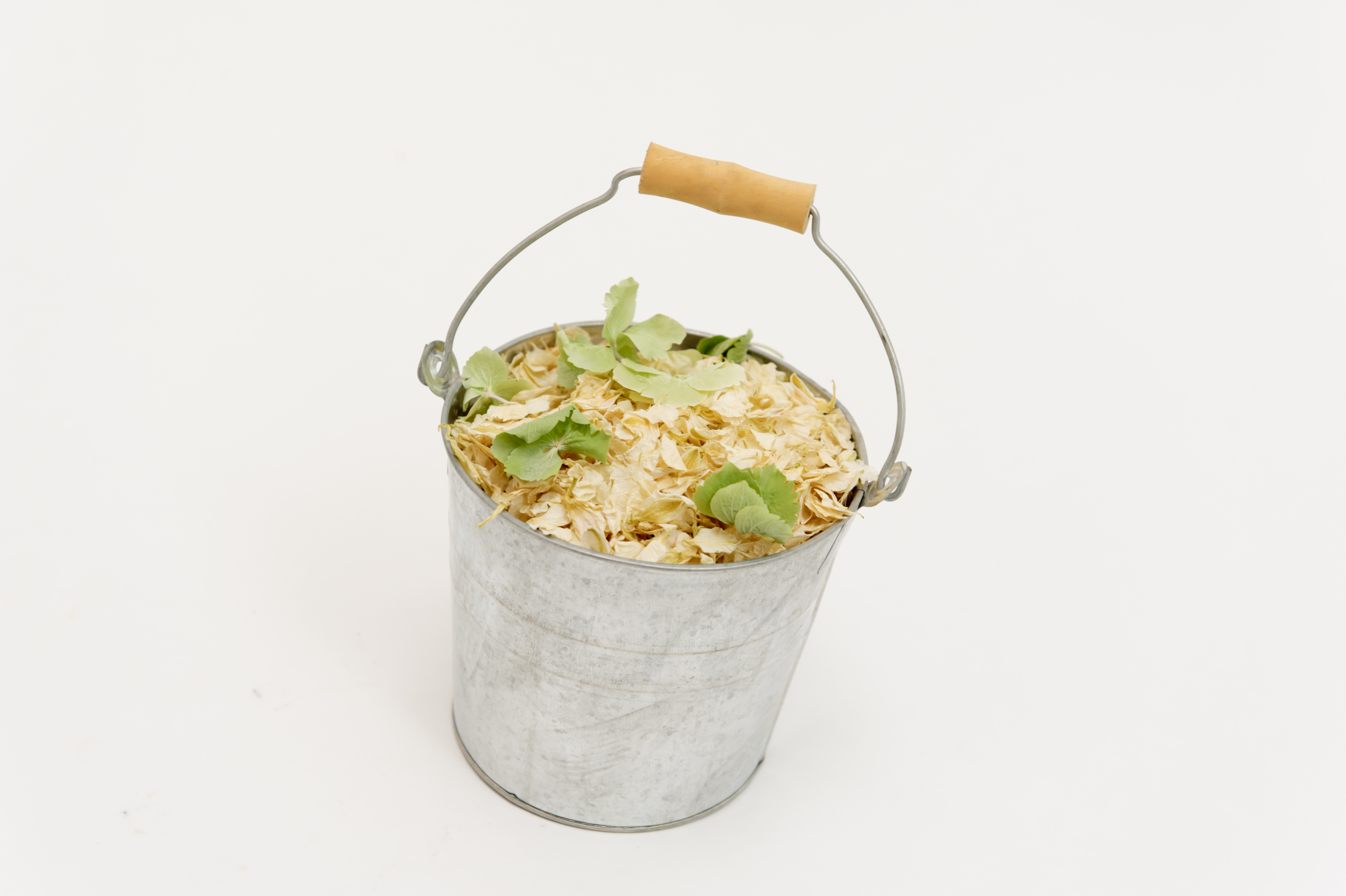 silver_confetti_pail_with_enchanted_woods_natural_petal_confetti