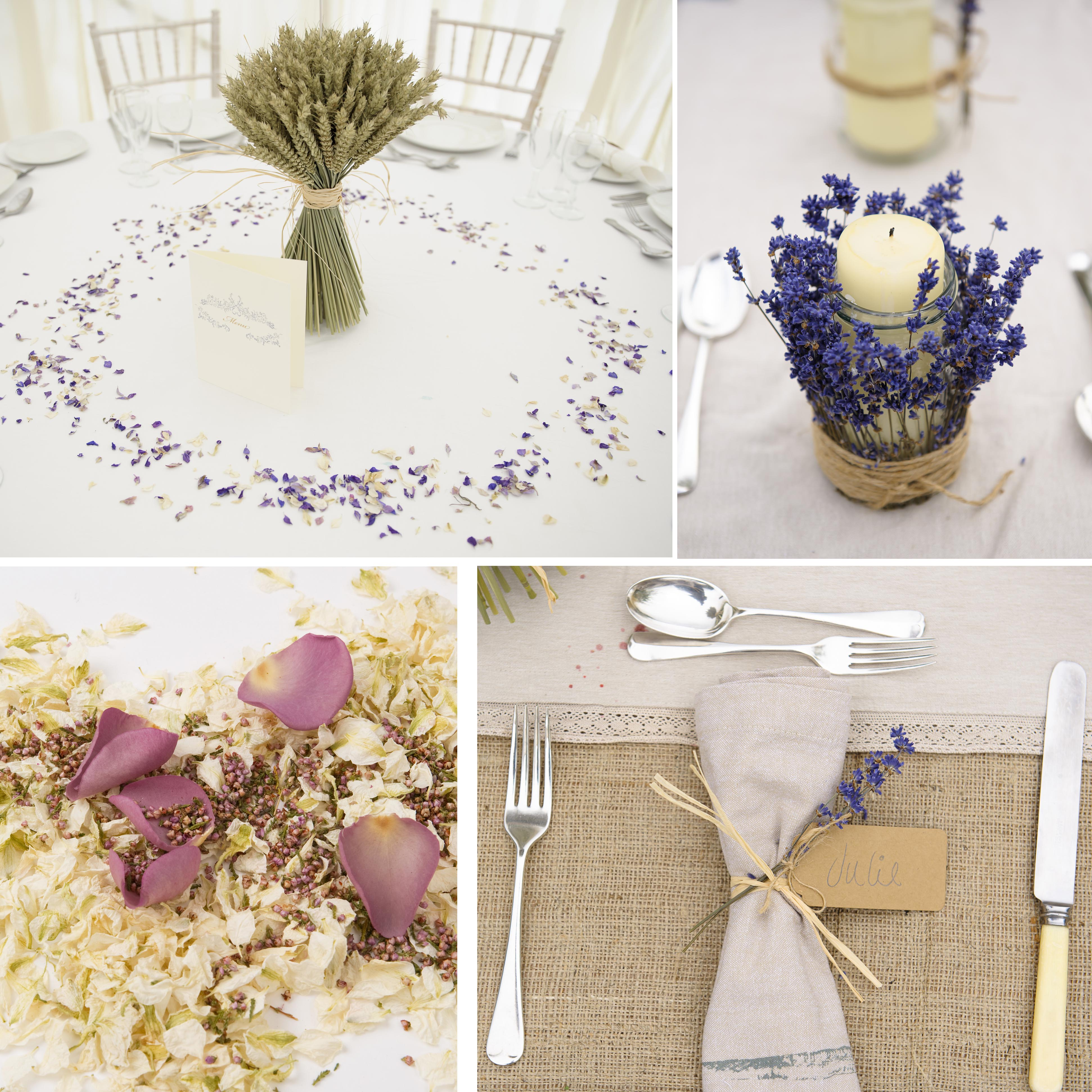 Dried Lavender Table Decorations Loris Decoration