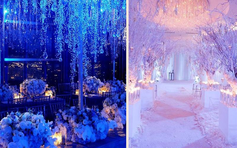 Winter Wonderland Wedding Ideas Biodegradable Petal