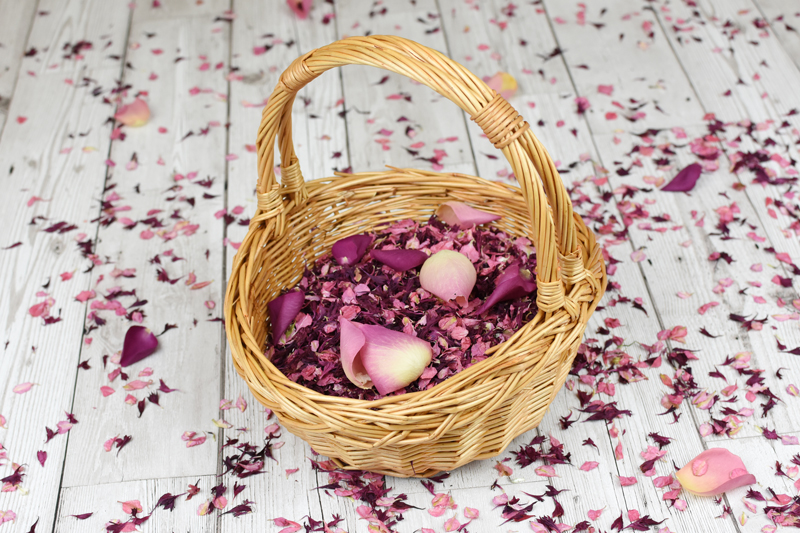 Shropshire_Petals_Feb_MOTM_Cherry_Blossom__Burgundy_Berry__Cerise__Flamingo_Pink_Flower_Girl_Basket__02___1_