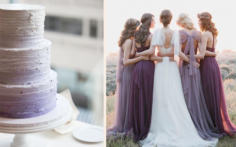 Lavender Wedding Theme Ideas Biodegradable Petal Confetti Natural
