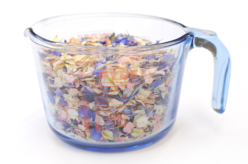 How Much Confetti Do I Need For My Wedding? Biodegradable