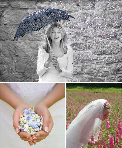 Wedding Superstitions: Wedding Superstitions Biodegradable Petal Confetti