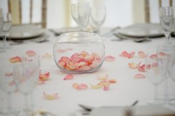 light_pink_promise_rose_petals_as_table_decoration