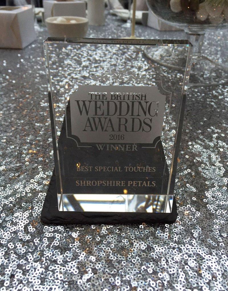 Shropshire Petals Award