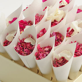 a shropshire box- perfect for handing confetti cones out to your guests